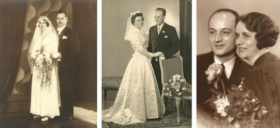 v.l.n.r. Großeltern Pippersteiner, meine Eltern, Großeltern Schuster